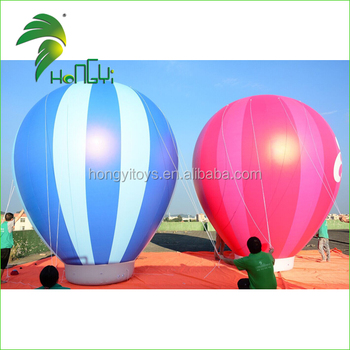 Inflatable PVC Ground Balloon / Inflatable Hot air balloon / Inflatable custom logo printed balloons