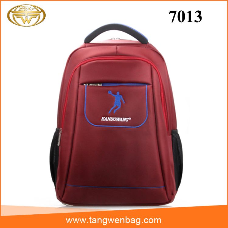 cheap wholesale nylon waterproof fashion embroidered backpacks