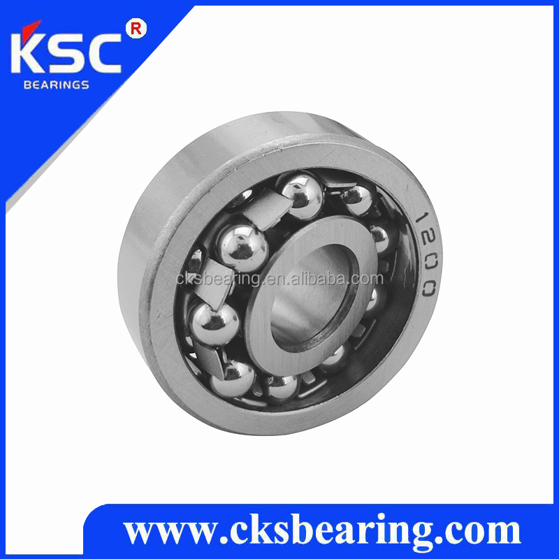Self aligning double row ball bearings 1200 , size 10*30*9 mm