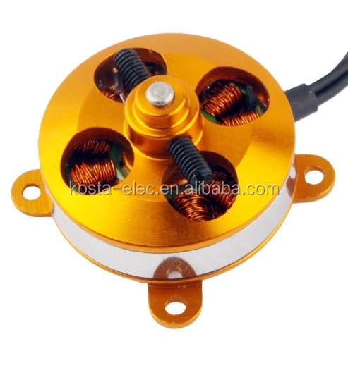 2204 1400KV OUTRUNNER BRUSHLESS MOTOR FOR RC HELICOPTER