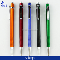 metal clip promotion corporate gifts hexagonal shaped ball pen
