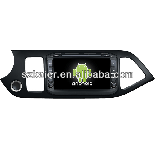 Android car multimedia for KIA Picanto with GPS/Bluetooth/TV/3G/WIFI
