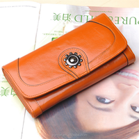 Most popular women purses real leather lady new fashion trend wallet