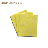 Orange super absorbent non-woven cleaning cloth/wipes