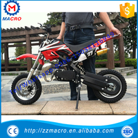 2 stroke dirt bike 49cc pull start 50cc kir bisiklet 50cc pocket bike