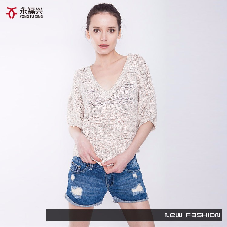 High quality factory price flatbed knitter german sweater pullover
