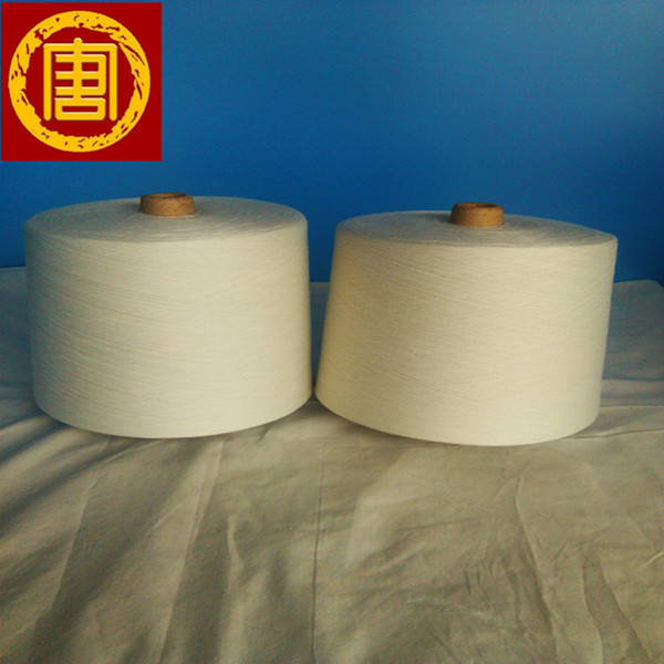 stock lot spun polyester yarn imported by Pakistan buyers 40s Shijiazhuang supplier