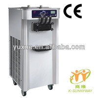 floor stand soft server ice cream machine/CE/good quality