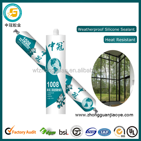 Antibacterial silicone sealant raw material duct sealant