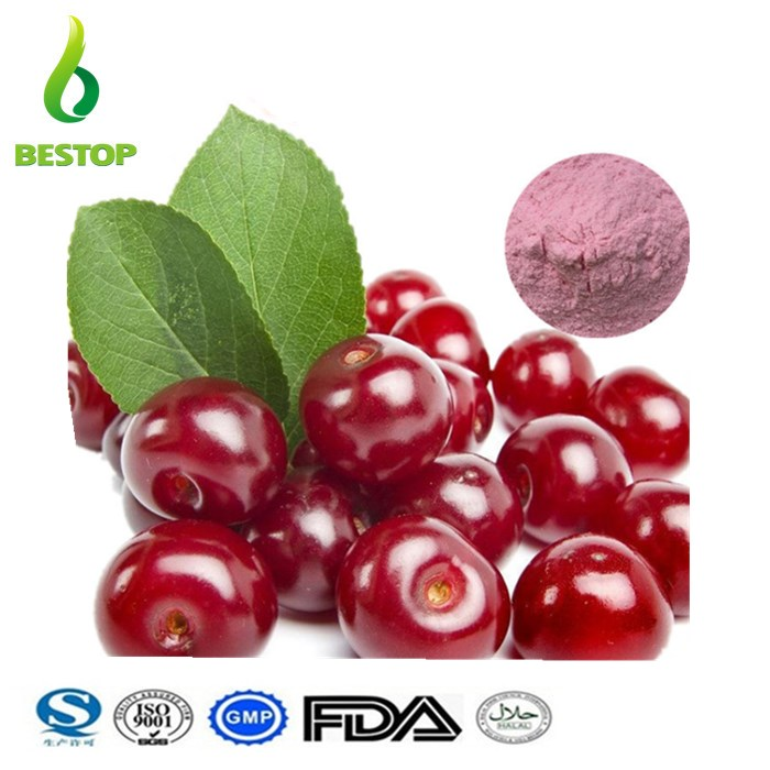 ZhenYeYingTao Natural Acerola Cherry Extractder 17% Acerola Extract Vitamin C