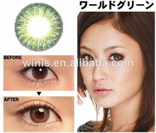 wholesale korea yearly colored contacts 14.8mm FDA approved geo contact lens