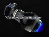 The best price Pyrex Butt plug realistic Glass dildo for women pussy masturbateGFG-005