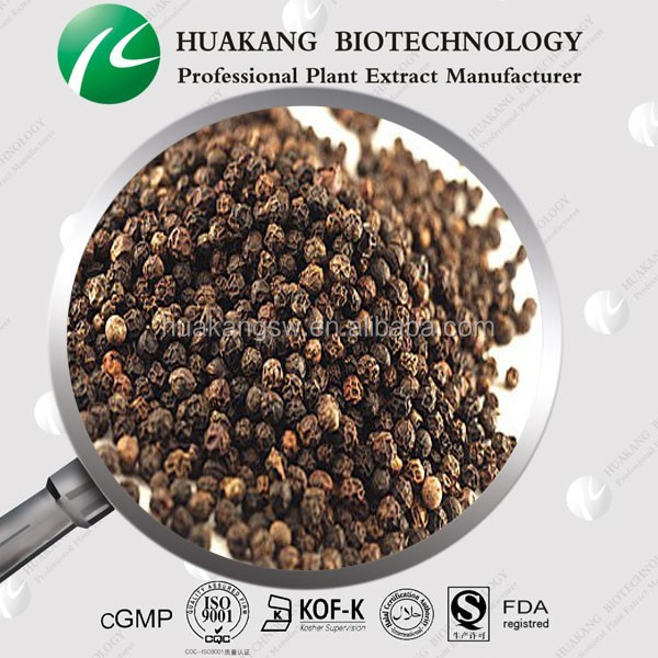 Original Black Pepper seeds Extract / Extract Powder Piperine 98%