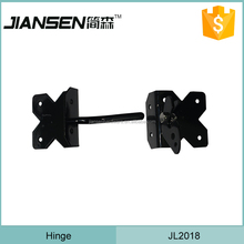Soft closing glass pool fence gate hinge