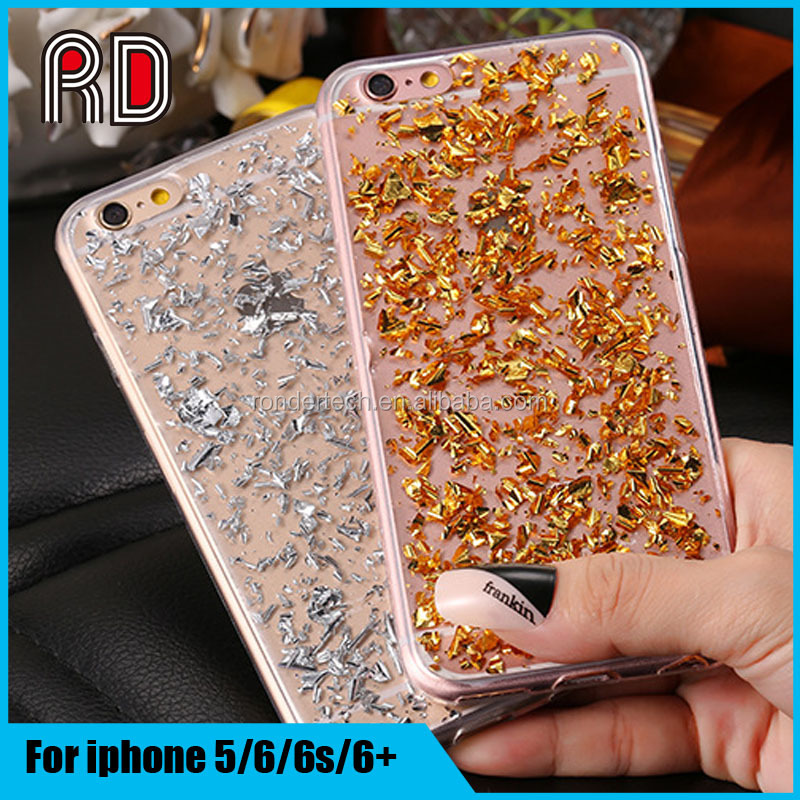 Full Platinum Bling Glitter Soft TPU Cover Mobile Phone Case For iPhone 6S/6/6 plus