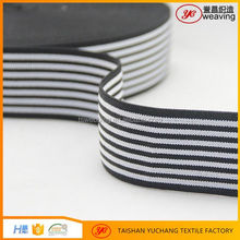 Factory direct offer custom woven strips elastic band