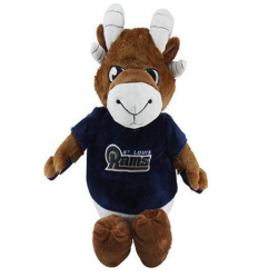 St. Louis Rams Reverse-A-Pal Football mascot Plush Toy