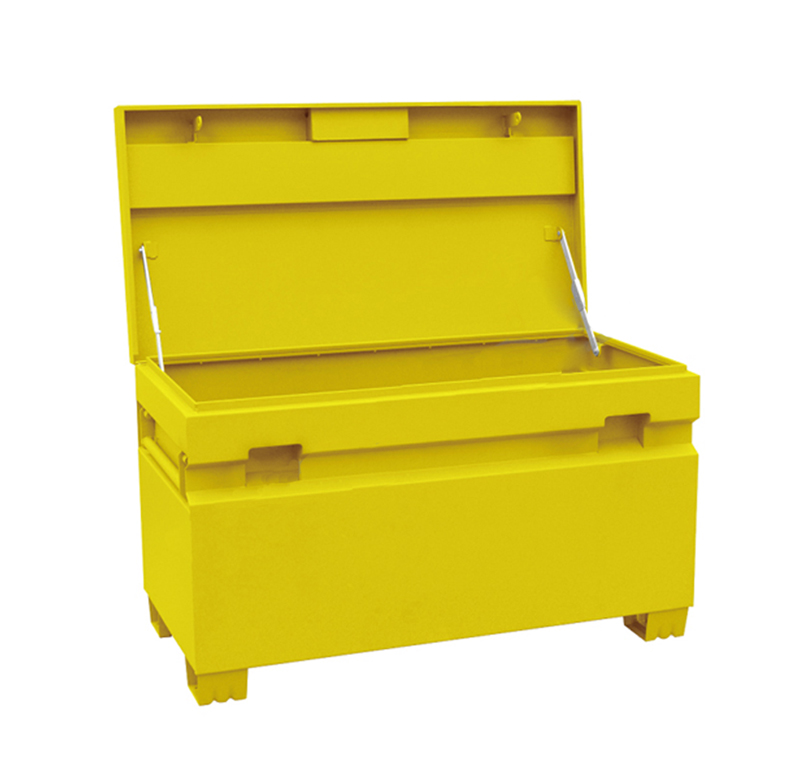 Better Built HD Heavy-Duty Steel Site Safe - 48in.W x 24in.D x 28in.H, 16-Ga. Steel jobsite toolbox