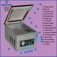 DZ 260 Household Small Food Vacuum Packing Machine 260mm Sealing Length