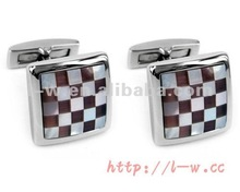 LS-157 Square patterned Textile Jewelry
