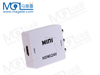Mini HD Video Box 1080P HDMI To AV CVSB L/R RCA Converter HDMI2AV Adapter Support NTSC PAL Output Standard HDMI Interface