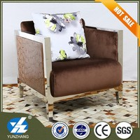 Furniture hotel sofa supplier of the simple fabric chair designs