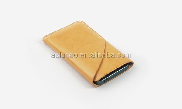 Hallowmas gift Leather cell phone cases manufacturer