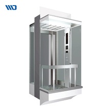 China Supplier Quality Vertical Laminated Safety Glass Elevator Cabin