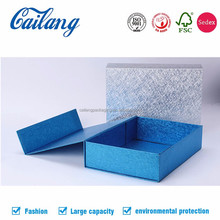Custom folding gift box paper packaging with sleeve