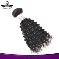 Unprocessed ponytail hair extension for black women peruvian curly hair 8a grade virgin unprocessed human hair