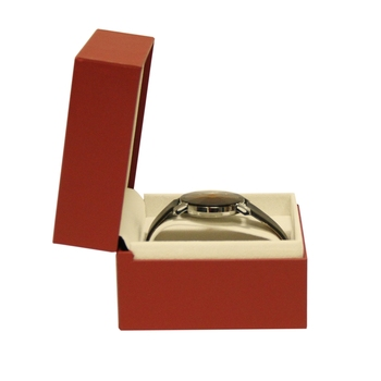 Hot sale elegant cardboard wrist watch box inserts