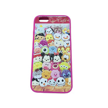 Custom waterproof cute silicone 3d animal mobile phone case