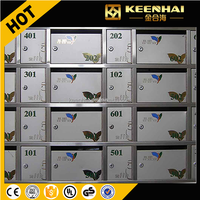 Stainless Steel Lockable Mailbox For Residential Apartment Building