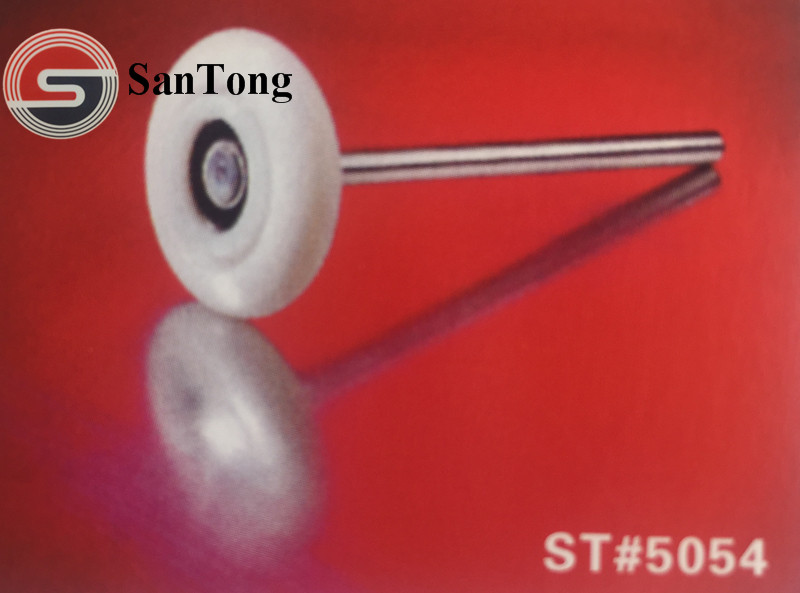 "ST-5054 3""*7"" Nylon Tire Roller Garage Door Roller"