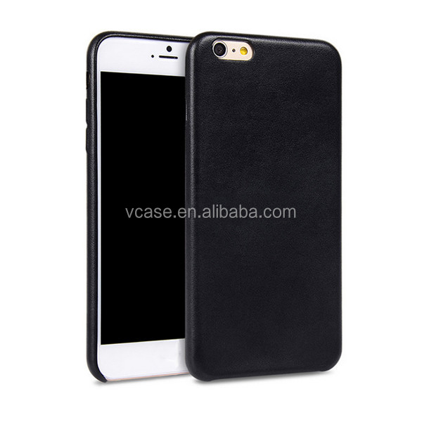 new product back cover light leather fashinal style mobile phone case for iphone 6