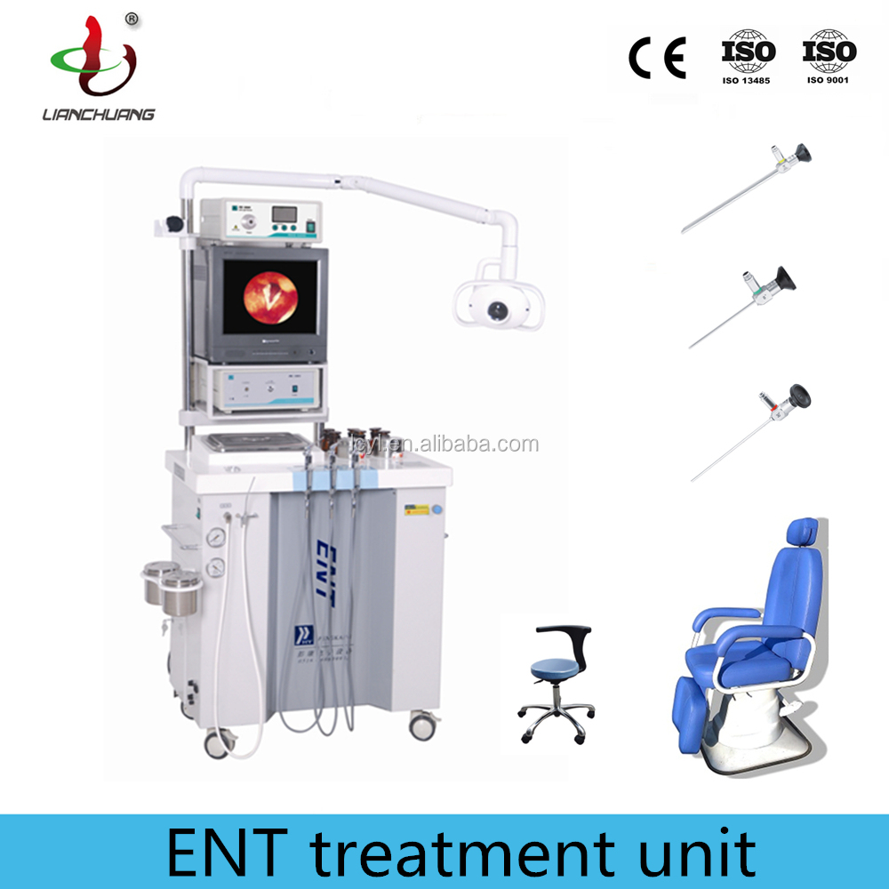 ENT unit with portable ccd camera endoscope and medical chair
