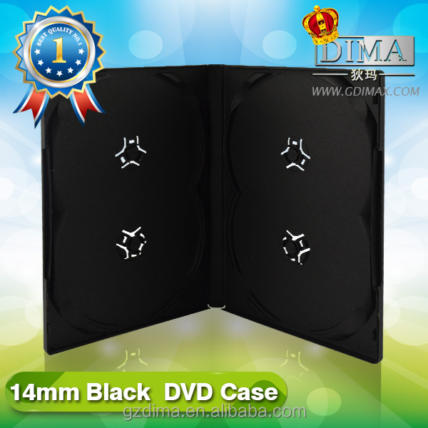 plastic cd dvd cover print14mm