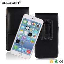 Premium PU Leather Universal Vertical Carrying Holster Belt Clip Loop Pouch Case Cover for 4.0-5.5 phone