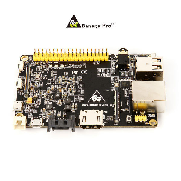Single development board Banana Pro 1 gb with wifi ,more powerful than raspberry pi 512MB