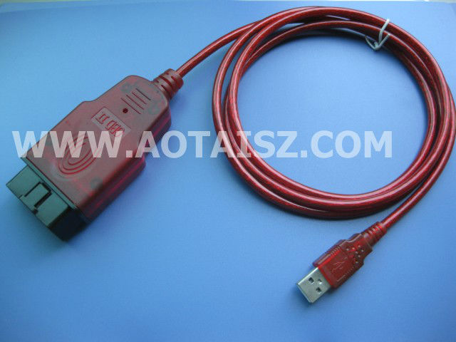 High quality OBD2 OBD II Diagnostic USB Cable