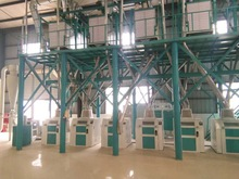 50-150Tpd Corn Flour Mill/Corn Flour Milling Machine/Corn Grits Mill