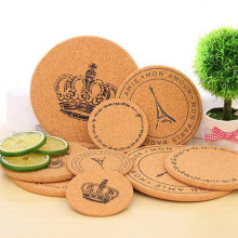 High quality Custom Sublimation Cork Coaster / Cork Pad / Cork Mat For Tableware