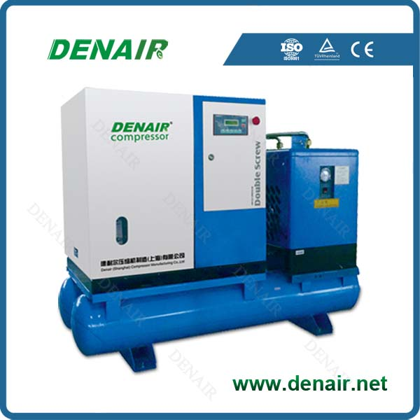 screw air compressor industrial with air dryer 30hp