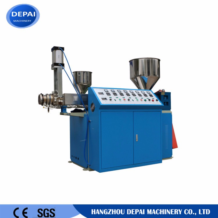 Plastic straw pipe drinking straw making machine