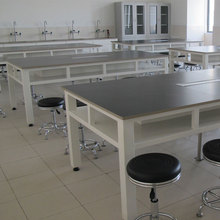 Science open chemistry wooden and plastic steel lab furniture