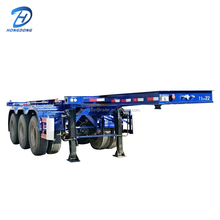 Strengthen Container Semi Trailer Used to Carry Goods Cargo Box Trailer