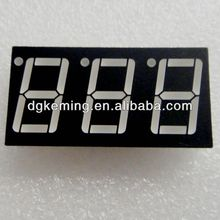 low price hot alibaba express 3 digit 7 segment led display