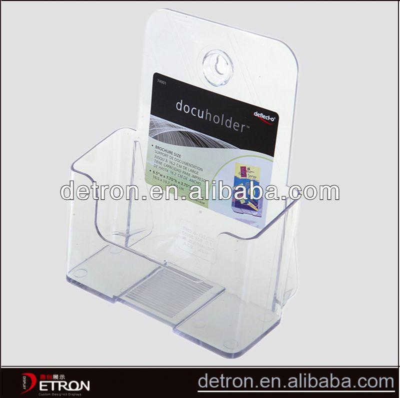Fashion Hot clear acrylic document display holder