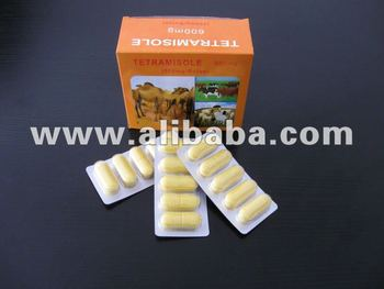 Levamisole bolus animal tablet