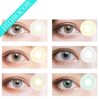 Summer Certificated Safety Yearly Big Eyes Color Contact Lens